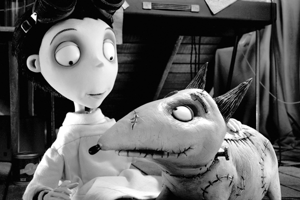 Movie Review Frankenweenie Jon The Blogcentric