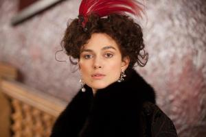 Keira Knightly plays Anna in the latest film adaptation of Anna Karenina.
