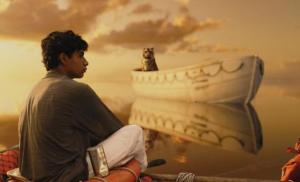 Pi Patel and the tiger Richard Parker learn to survive in Life Of Pi.