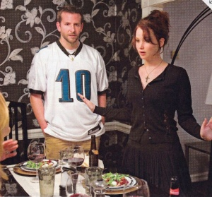 Bradley Cooper and Jennifer Lawrence shine in Silver Linings Playbook.