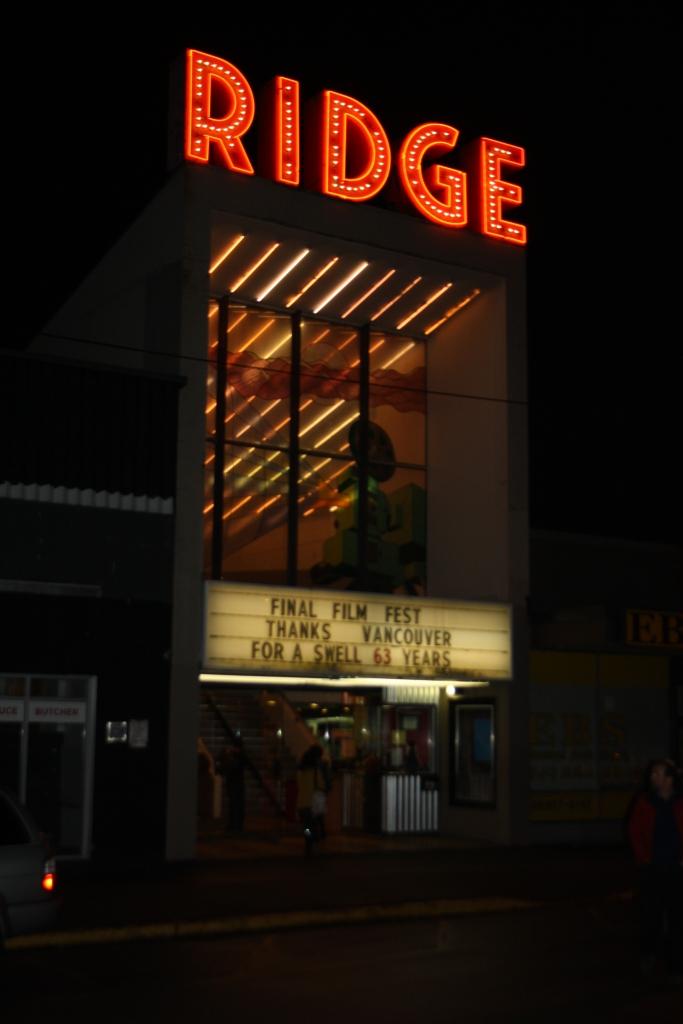 The Ridge Theatre: 1950-2013
