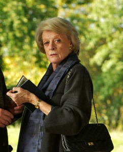 Maggie Smith stars in Quartet, a film of aging musicians that did well with critics and scored well at the box office too.