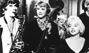 Tony Curtis, Jack Lemmon and Marilyn Monroe put on an unforgettable show in Some Like It Hot.