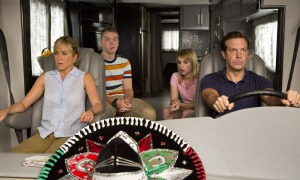 Jason Sudeikis (right) and Jennifer Aniston (left) lead an unorthodox trip in We're The Millers.