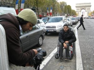 Filmmaker Jason DaSilva won't let MS stop him from living his life or even making films in When I Walk.