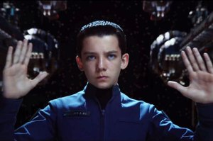 Asa Butterfield plays child genius Ender Wiggin in the family sci-fi thriller Ender's Game.