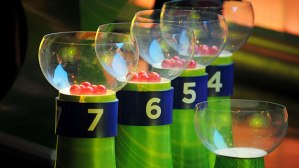 The stage was set Friday to decide the eight First Round groups for next year's FIFA World Cup in Brazil.