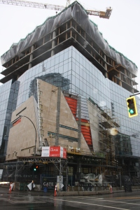 The Anvil Centre, slated to open later this year, is slated to be the city's new civic centre.
