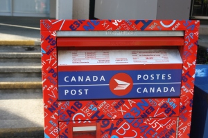 Mailing a letter in Canada became a lot more expensive as of March 31st.
