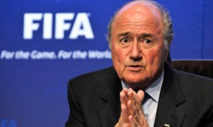 FIFA's president Sepp Blatter has come under fire under allegations of bribery.