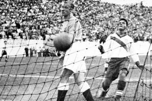 World Cup 1950 wasn't all Brazil, Brazil. It also was the stage for the American's 1-0 upset over England.