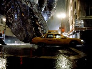 The 1998 remake of Godzilla had a heavy hype machine behind it but was all action and no real story.
