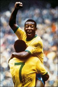 Brazil has a football legacy like no other nation and its legendary player Pele is commonly regarded as the epitome of its greatness.