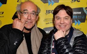 Entertainment mogul/promoter Shep Gordon (left) is the subject of Mike Myers' documentarian debut Supermensch: The Legend Of Shep Gordon.