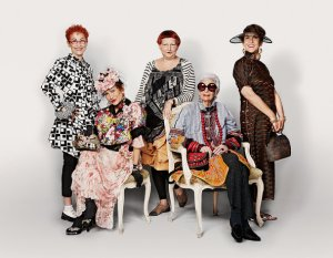 Advanced Style is a documentary about elderly women who know style!