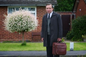 Still Life is a story of a man who's as alone as the deceased subjects he works with.