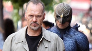 Michael Keaton plays a movie star trying to escape the image he was famous for en route to a comeback on Broadway in Birdman.