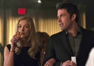 Gone Girl is a movie of a woman that appears to be a victim in a fading marriage but is actually the one in control.