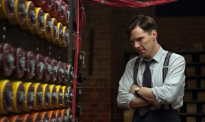 Benedict Cumberbatch plays mathematician/inventor Alan Turing through many angles in The Imitation Game.