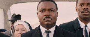David Oyelowo (centre) plays Martin Luther King in Selma.