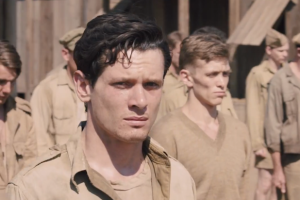 Unbroken is the story of American Olympian Louis Zamperini (played by Jack O'Connell) and his ordeal as a POW in Japan.