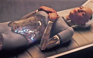 Meet Ava: a female A.I. robot who is the subject of Ex Machina.
