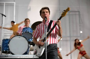 Love & Mercy is about the music and troubles of Beach Boy Brian Wilson (played by Paul Dano set in the 60`s).