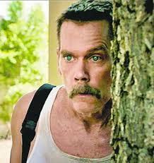 A corrupt cop (Kevin Bacon) had his car stolen by two eight year-old boys in the dark comedy Cop Car.