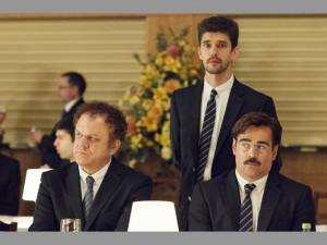 XColin Farrell, right, has bizarre experiences with being single, mating and being in love in The Lobster.