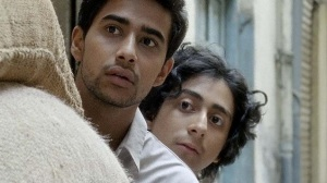 Suraj Sharma, left and Tony Revolori, right, go on a mission in Mumbai of truth and lies in Umrika.lies
