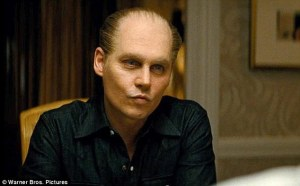 Johnny Depp is unrecognizable as James 'Whitey' Bulger in Black Mass.